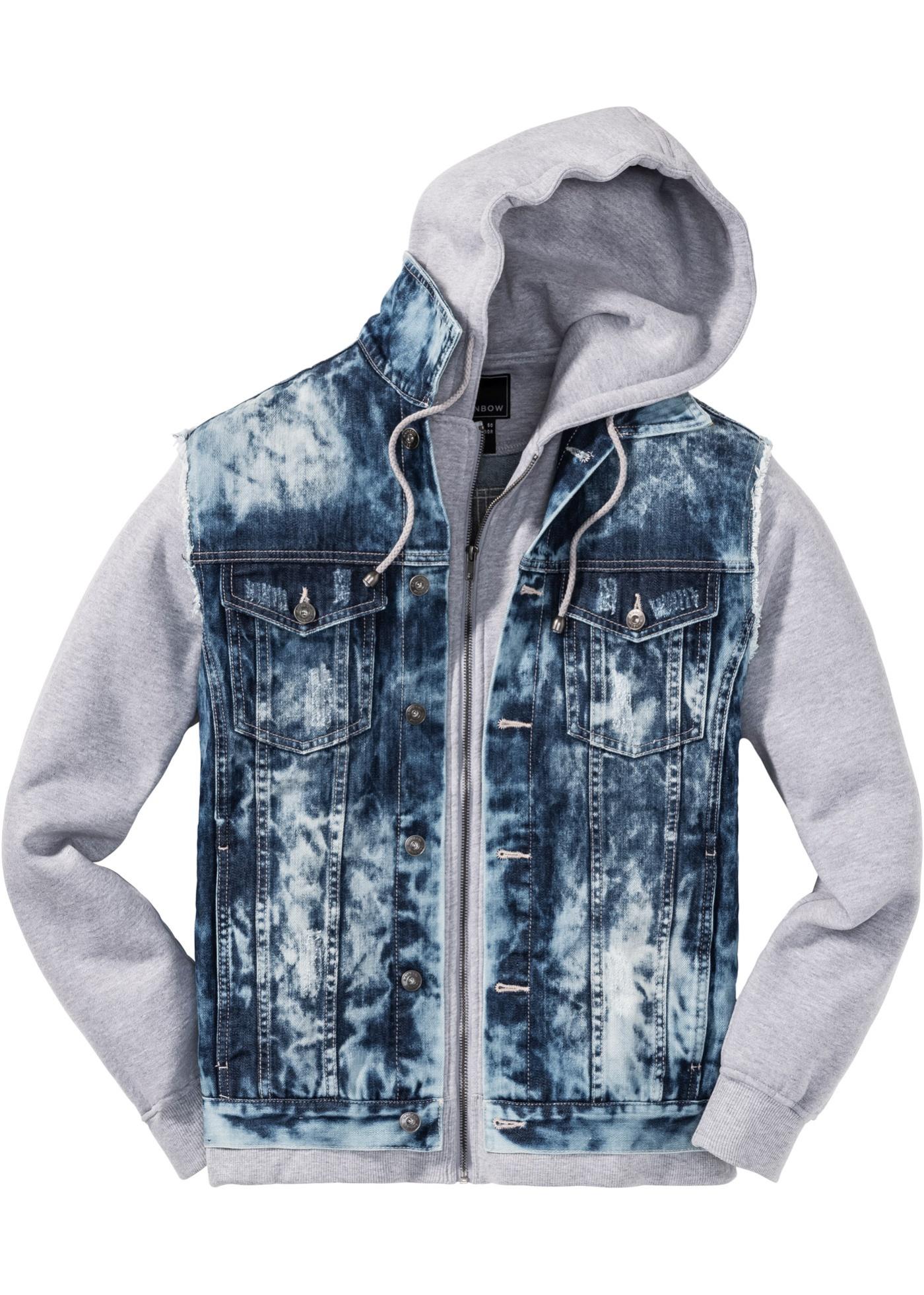 Džínová bunda Regular Fit - Modrá