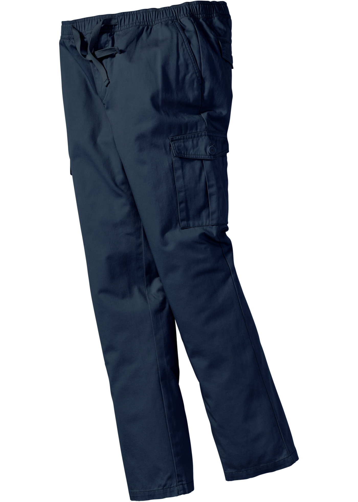 Kargo kalhoty Regular Fit - Modrá