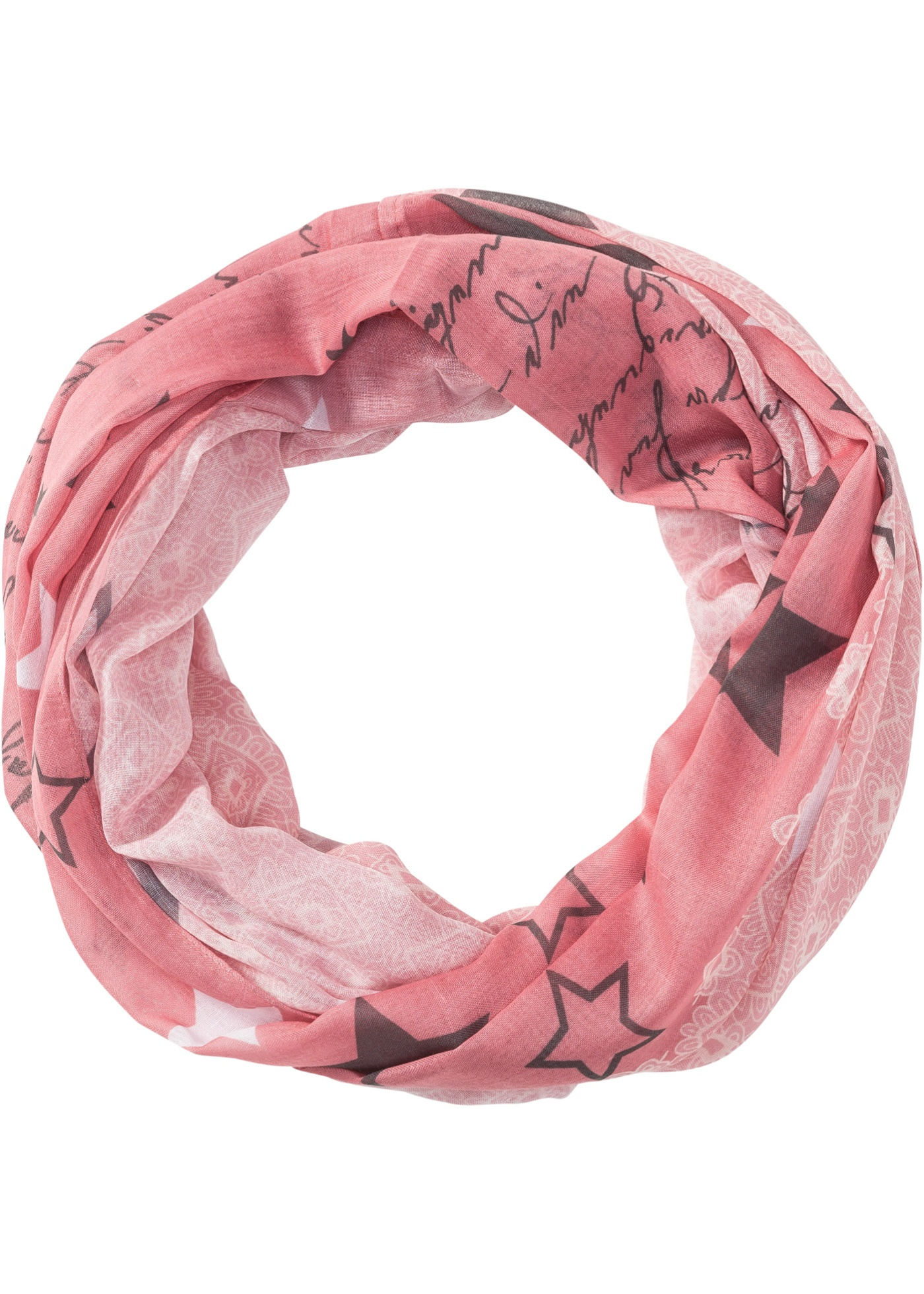 Nekonečná šála - Růžová 5e5c16fed0