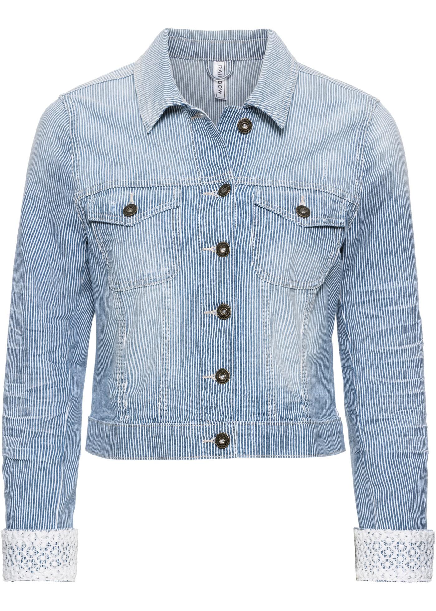 Džínová bunda - Modrá