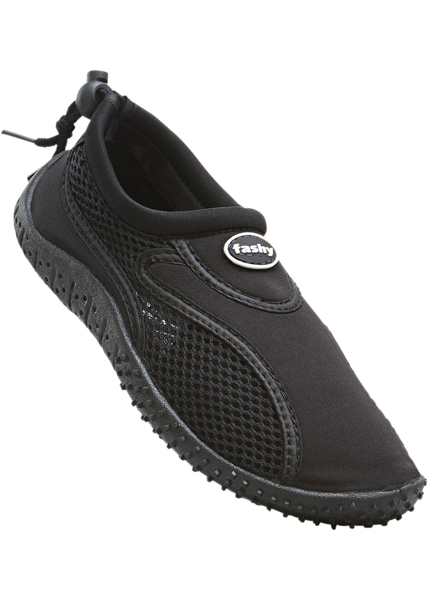 Koupací obuv - Černá