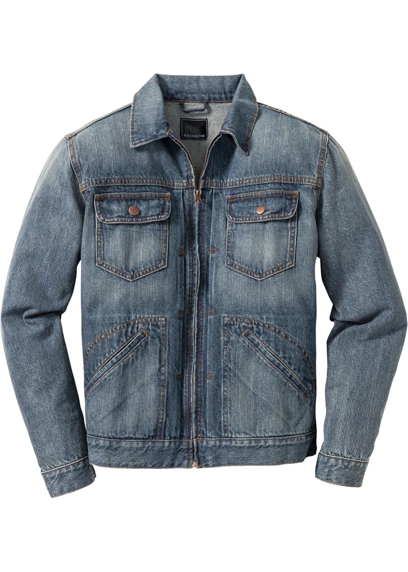 48173d4060ff Džínová bunda Regular Fit - Modrá