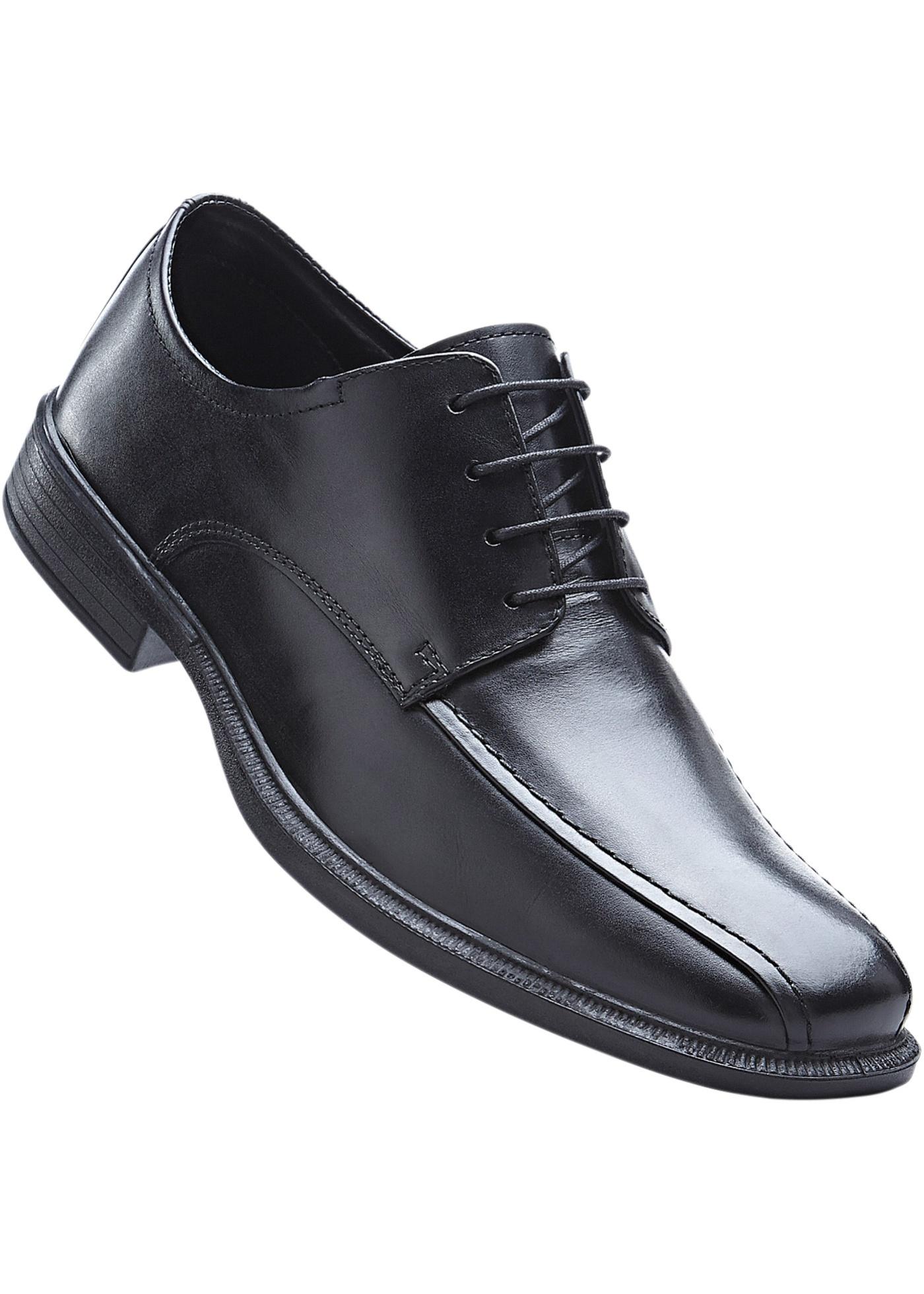 f6fd755c1113 Kožená šněrovací obuv - Černá