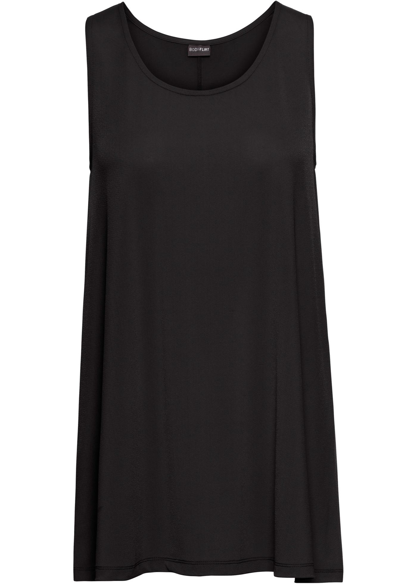 Tunika s mašlí - Černá