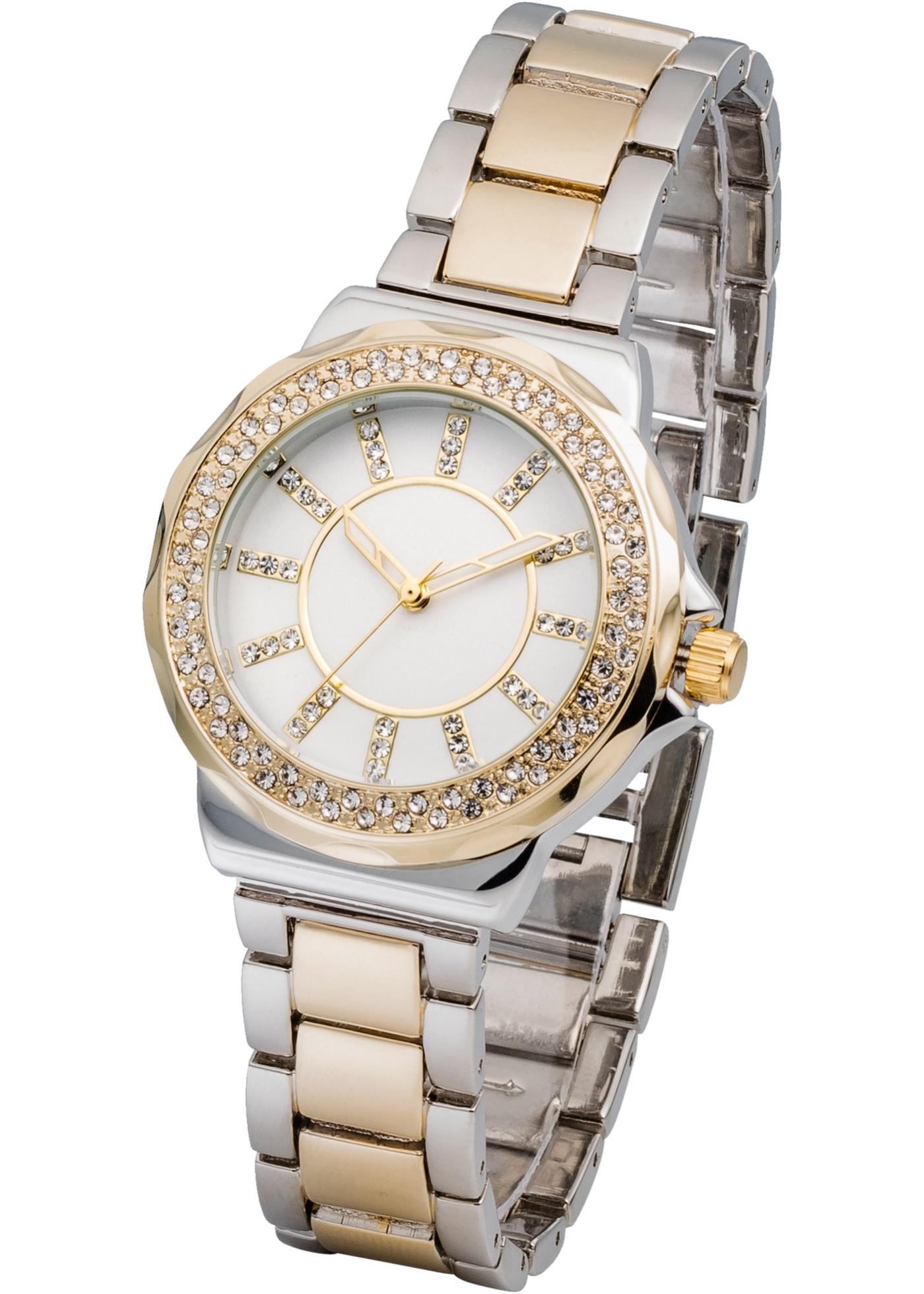 Kovové náramkové hodinky - Stříbrná 71abde3dfb