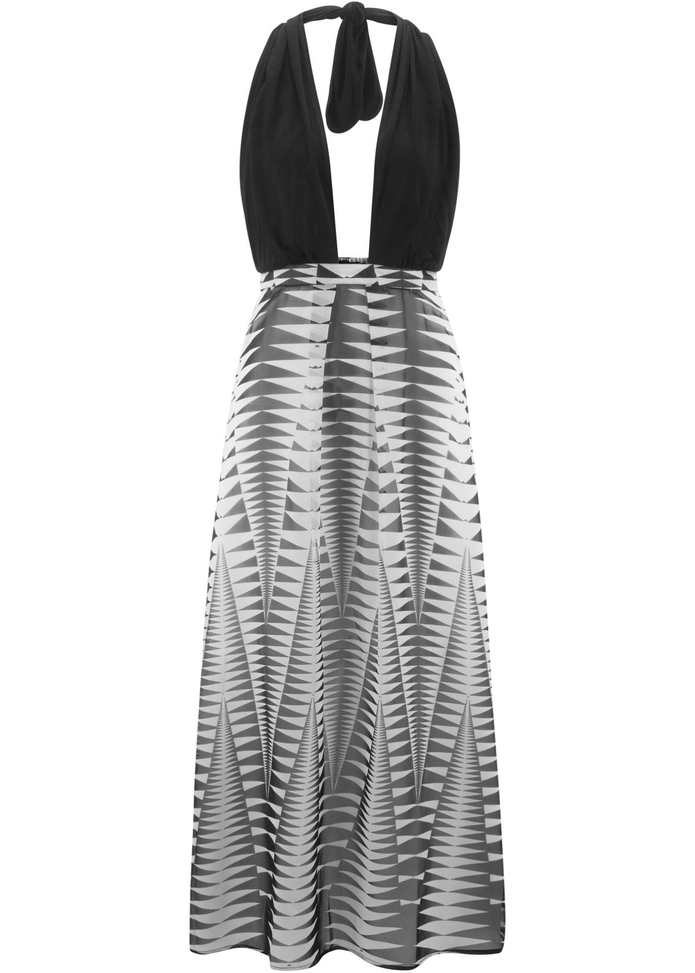 Plážové šaty - Černá