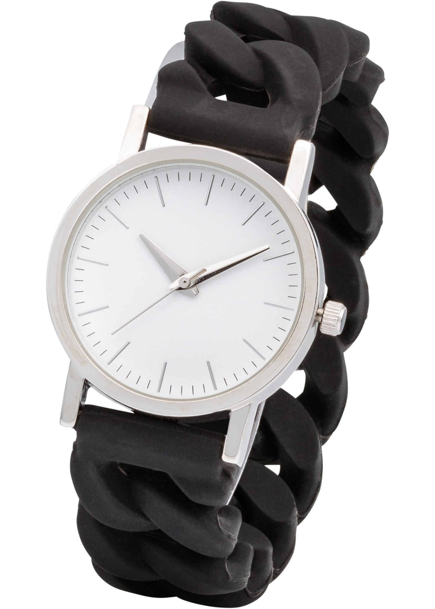 Silikonové hodinky - Černá 44a59b1283
