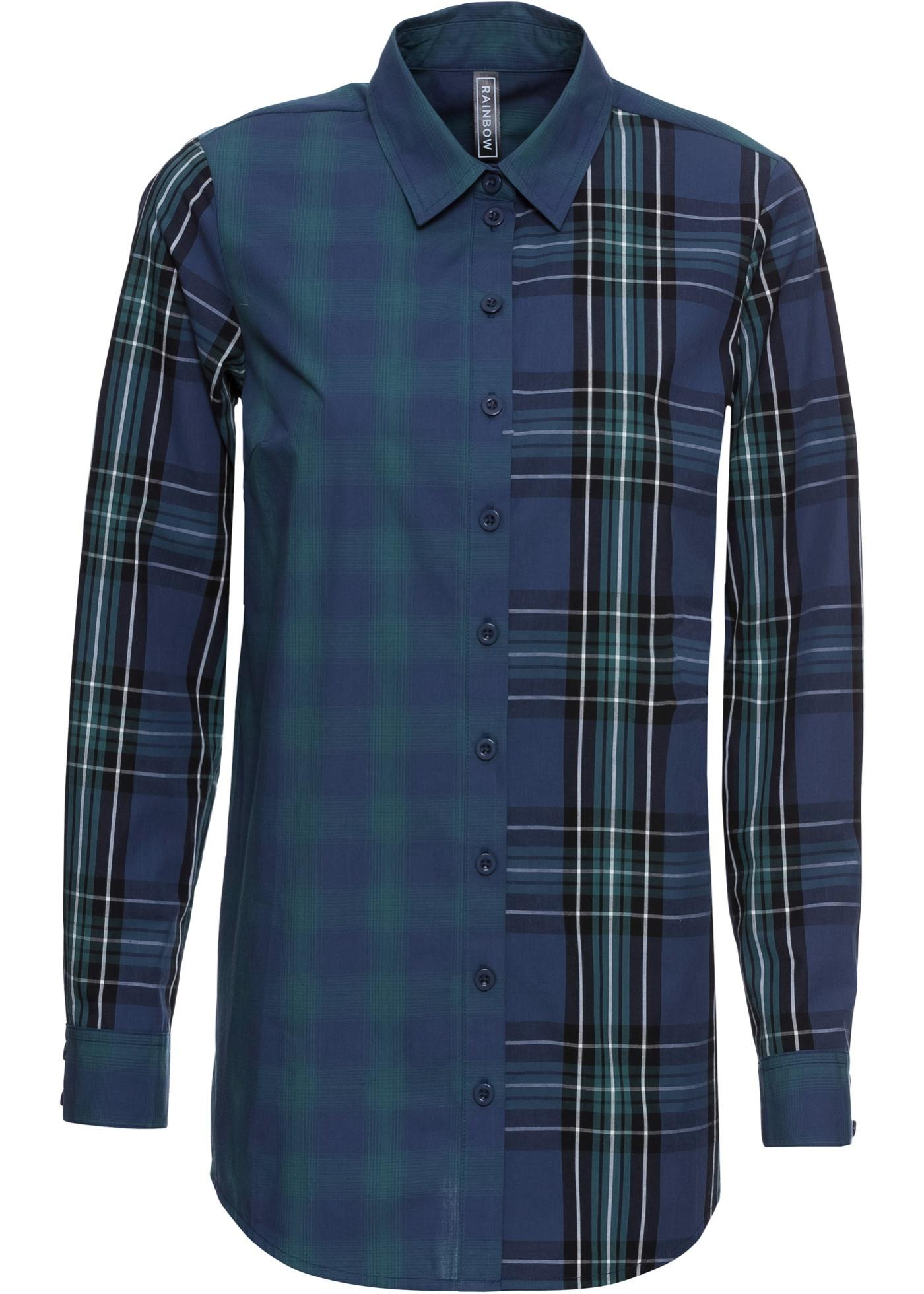 Kostkovaná košile - Modrá