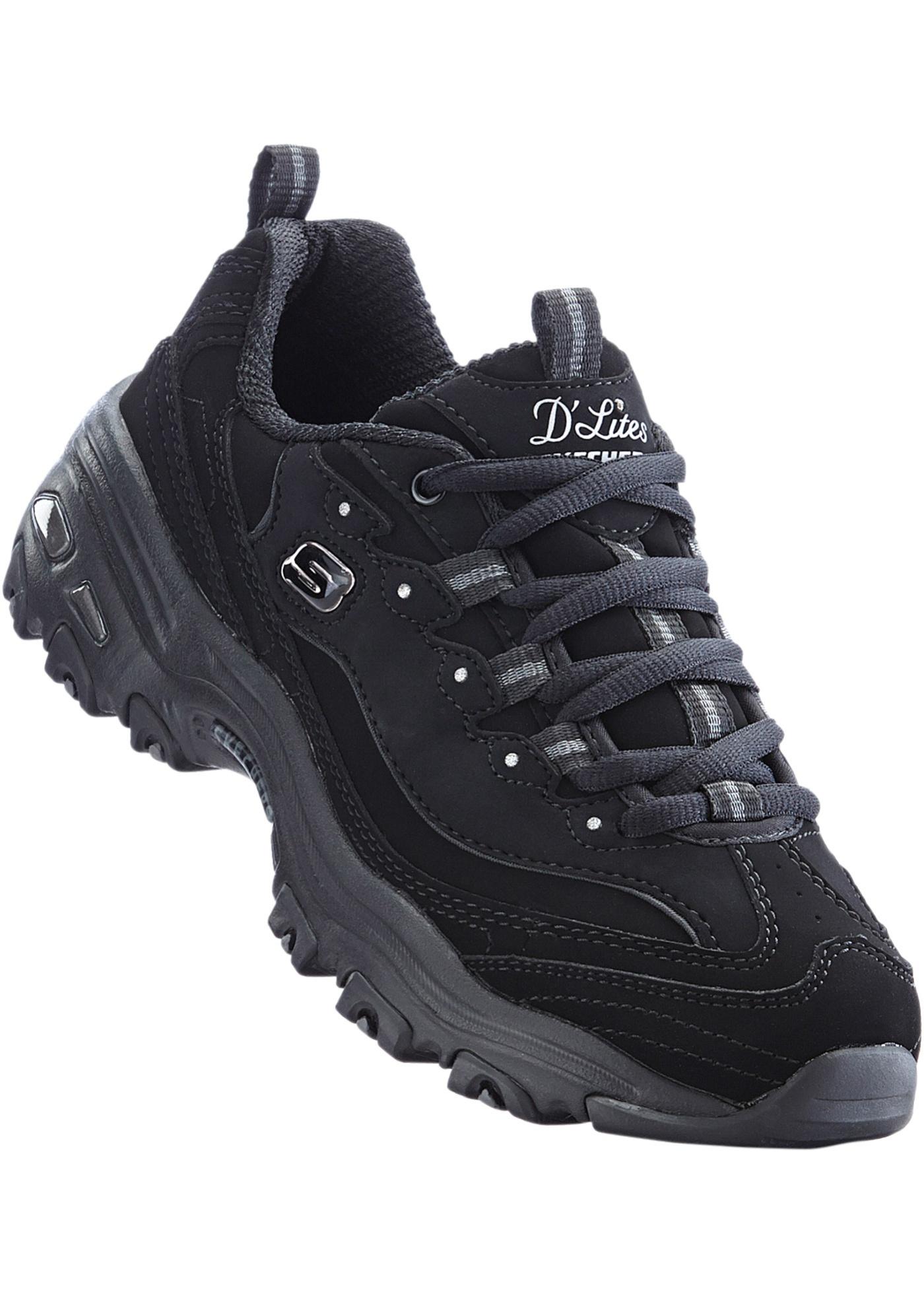 Vycházková obuv Skechers - Černá 30a5ef0ed8