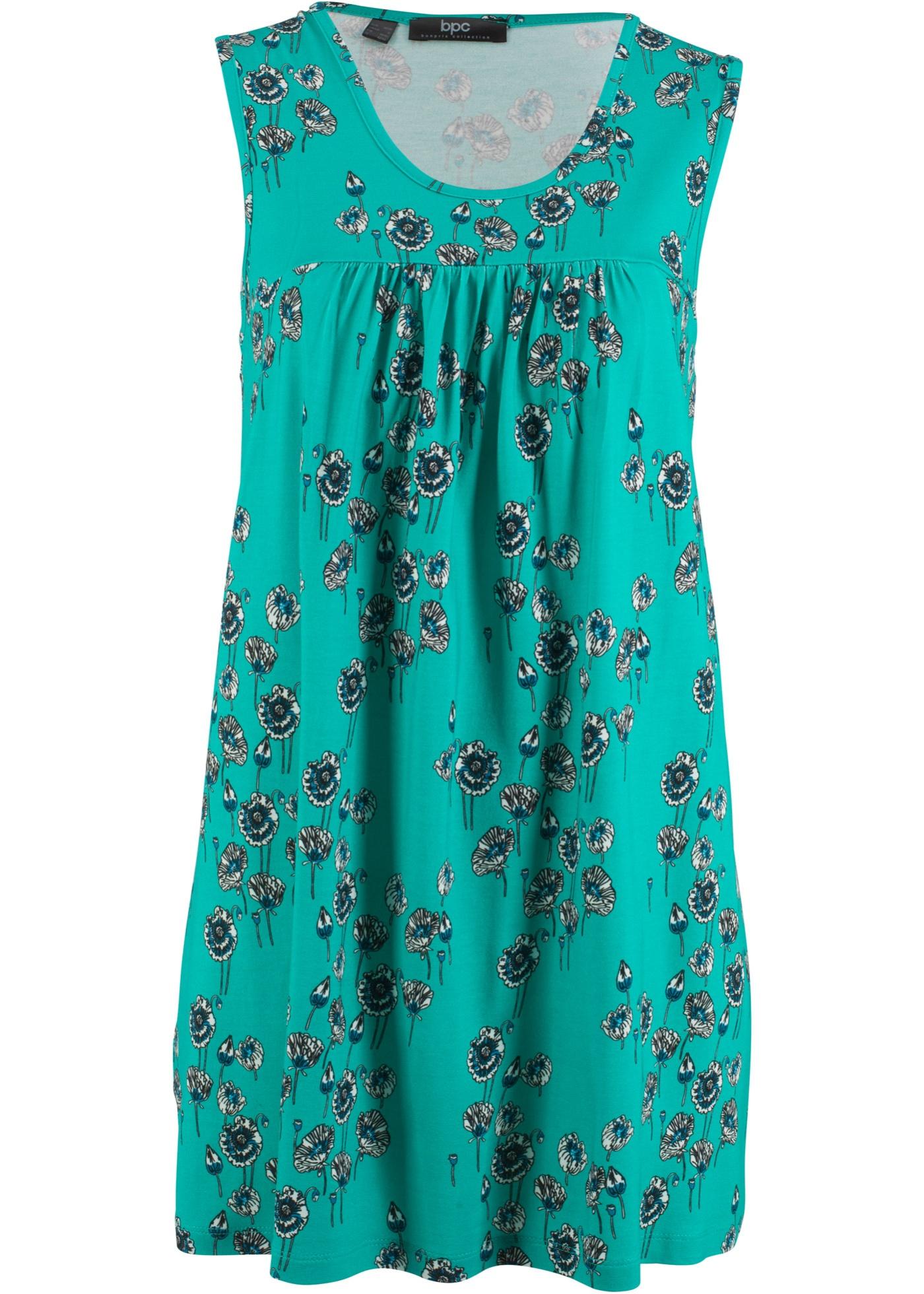 Šaty bez rukávů - Zelená