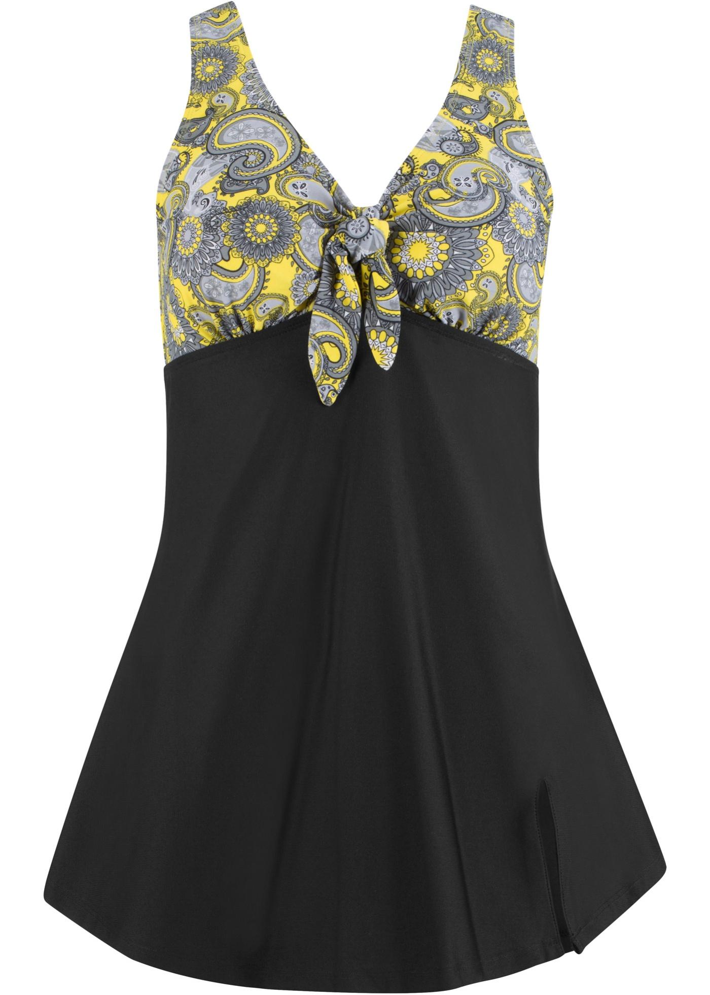 21b5f07be6fd Plavkové šaty - Černá