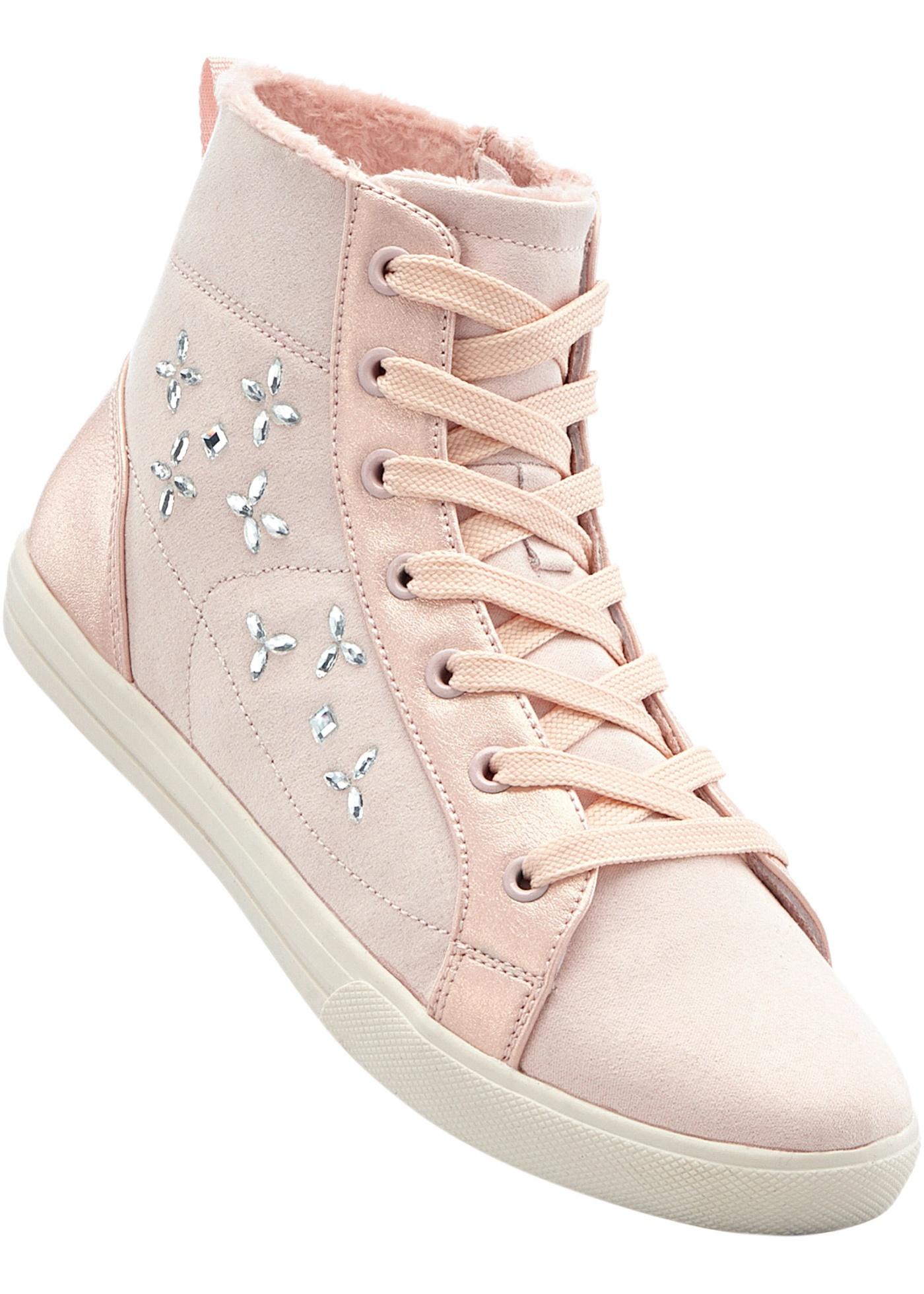 Kotníčková obuv - Růžová
