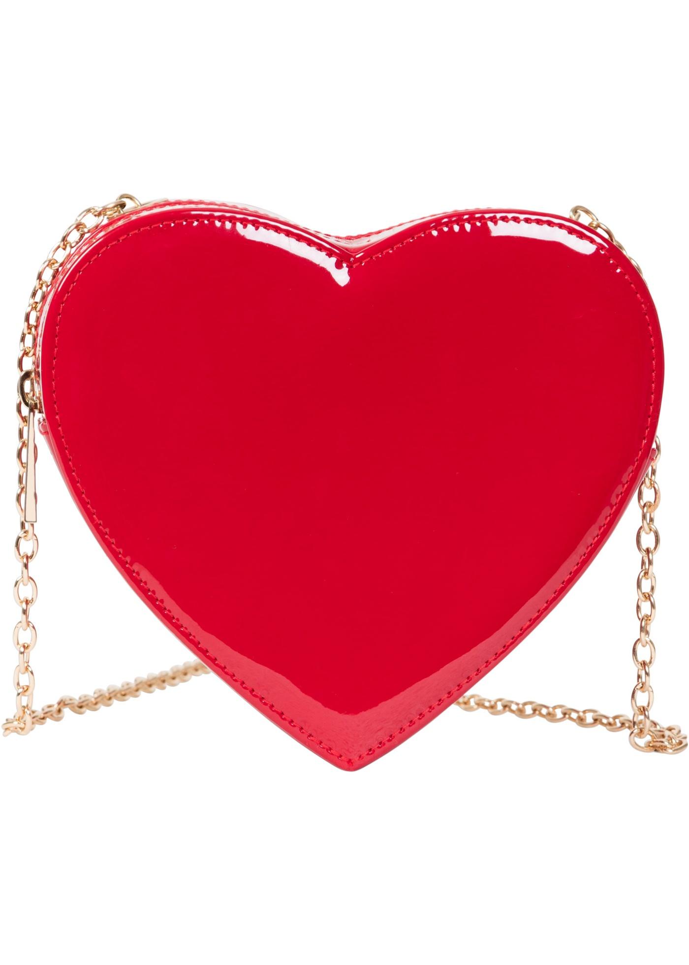 Kabelka přes rameno Srdce - Červená