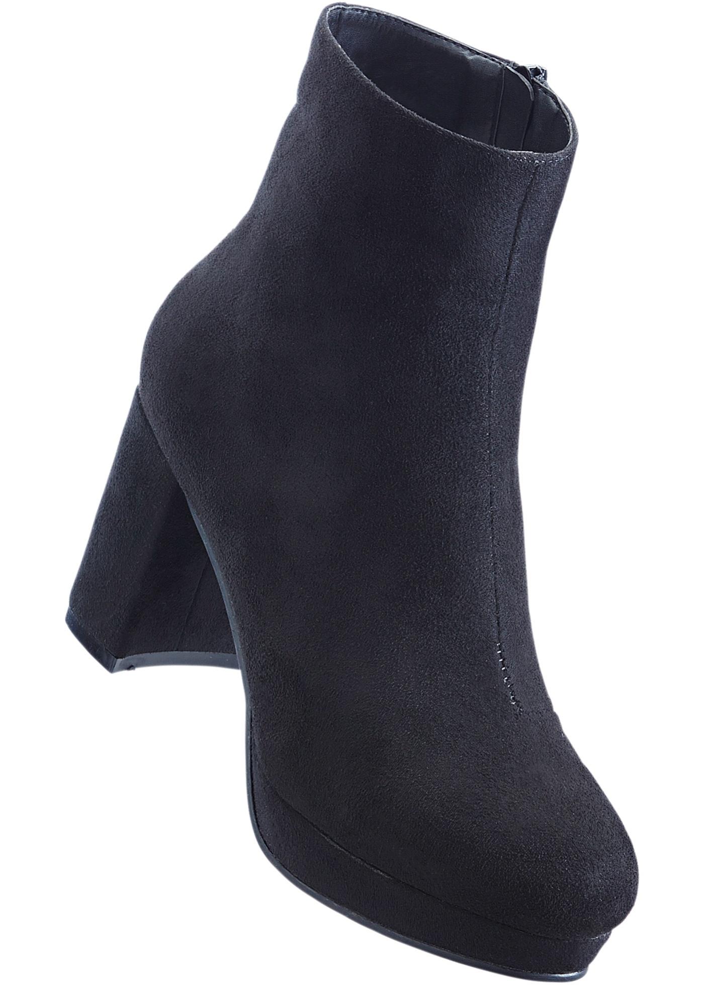 27c12d91b6 Kotníčková obuv na platformě - Černá