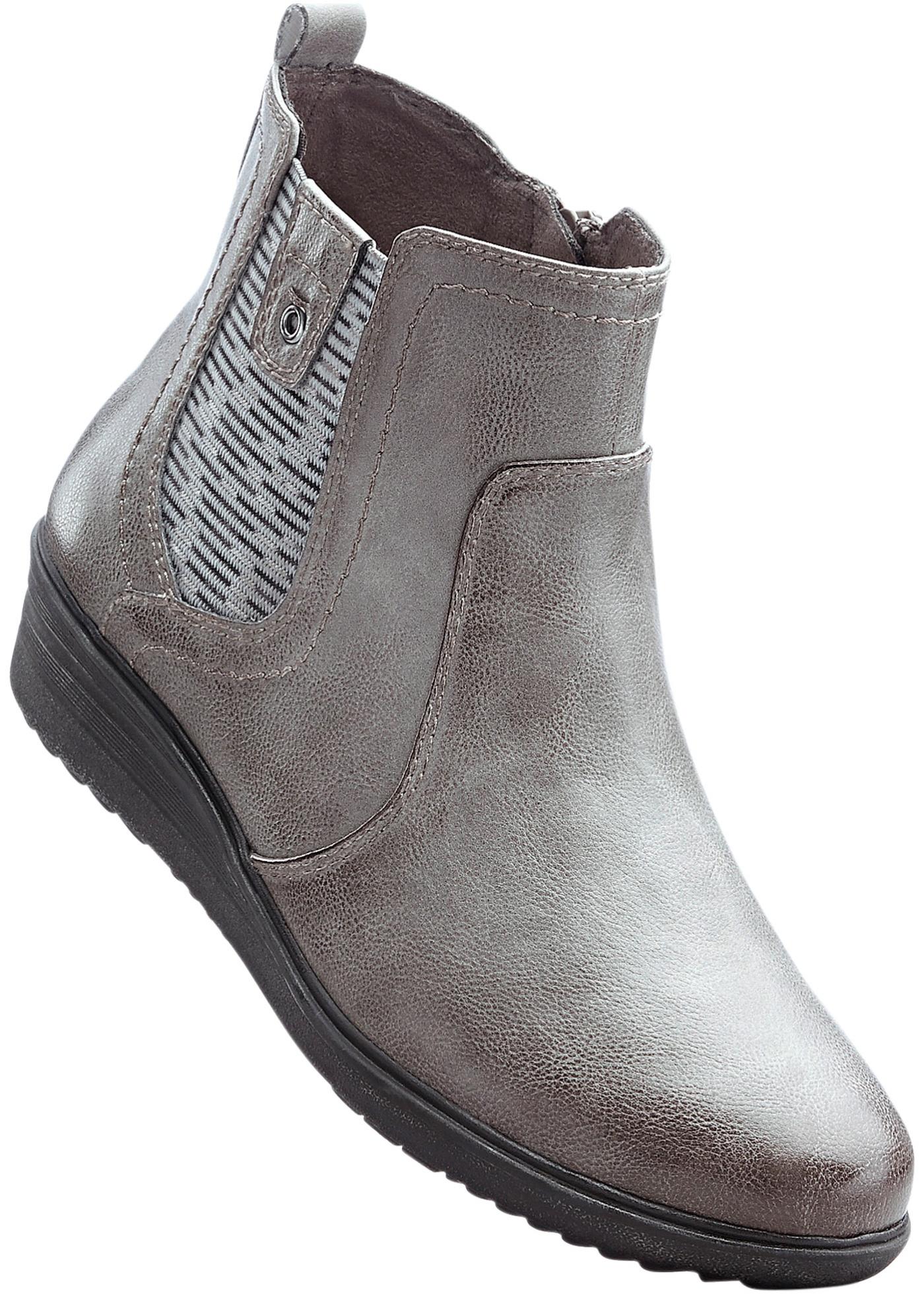 Pohodlná obuv na klínku značky Jana - Šedá d4197d1287