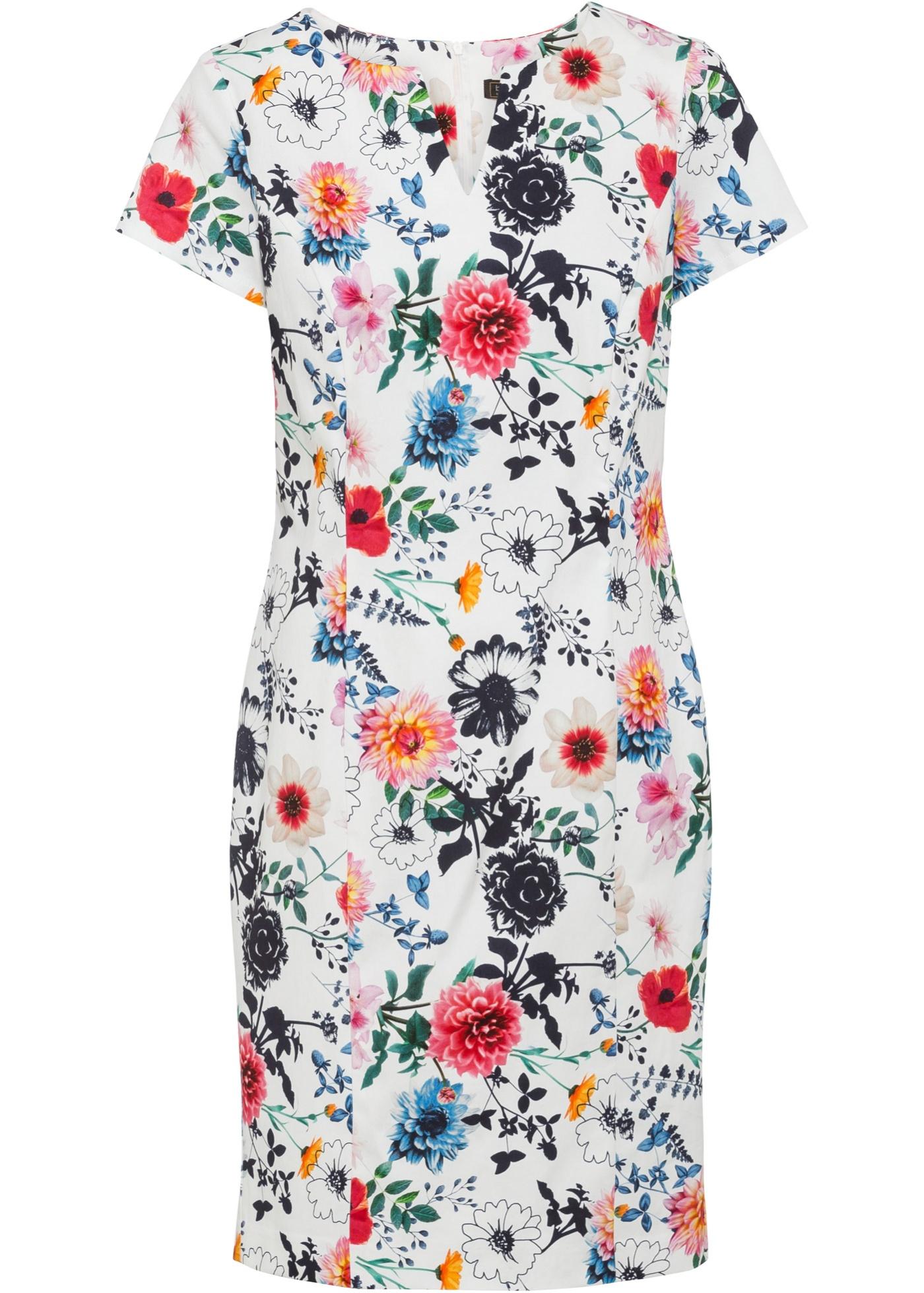 Levné Pouzdrové šaty   Bílá barva šatů