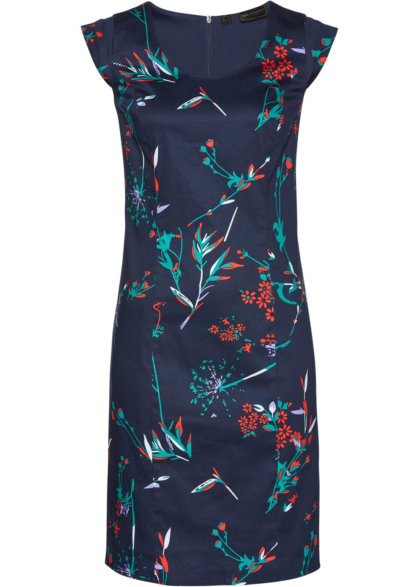 Levné Pouzdrové šaty | Modrá barva šatů