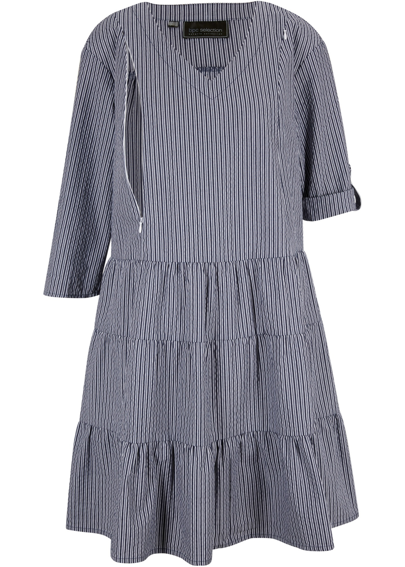 Těhotenské/kojicí košilové šaty