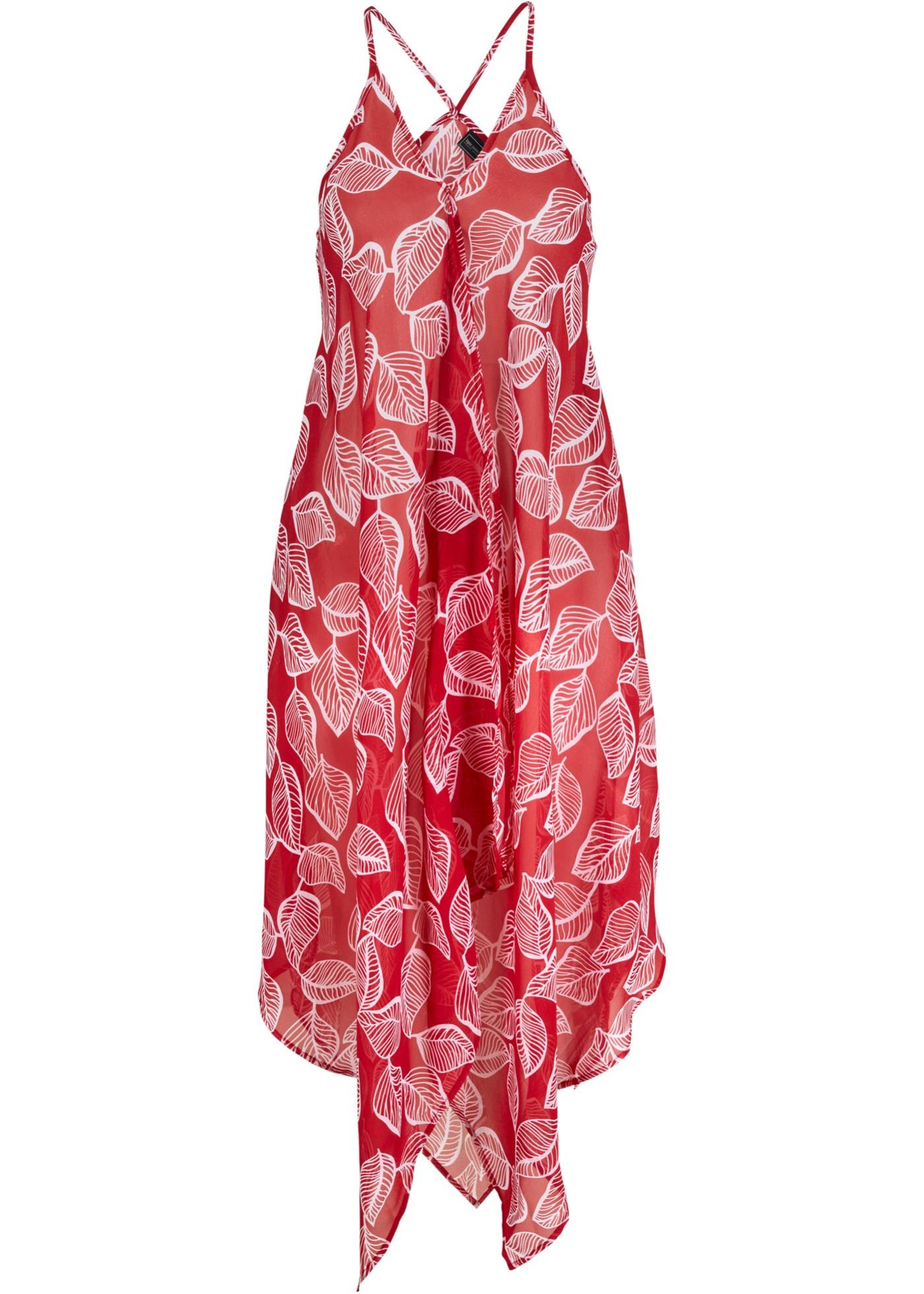 Levné Plážové šaty   Červená barva šatů